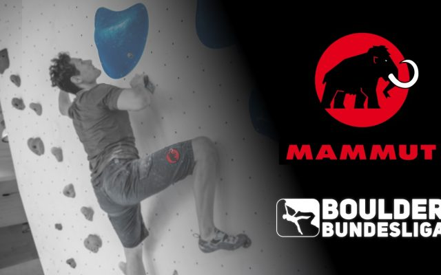 Mammut wird Partner der Boulder Bundesliga