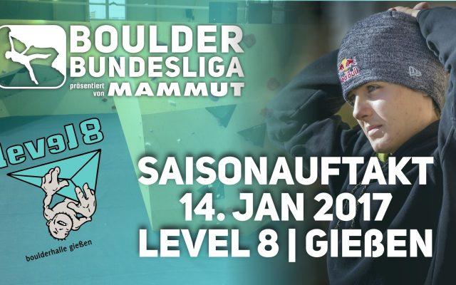 Vorschau: 1. Spieltag | Level 8 Gießen