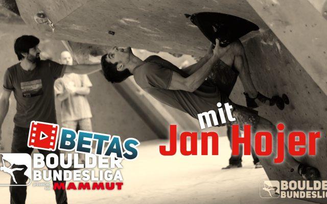 Boulder Betas mit Jan Hojer