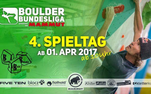 Vorschau: 4. Spieltag | Boulder Base Bremen