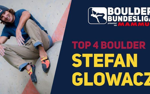 Stefan Glowacz – Die Top4 seiner Boulder