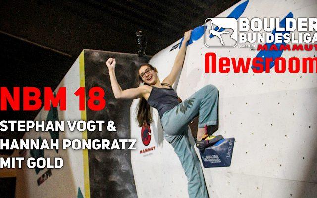 Stephan Vogt und Hannah Pongratz holen den Titel im Norden