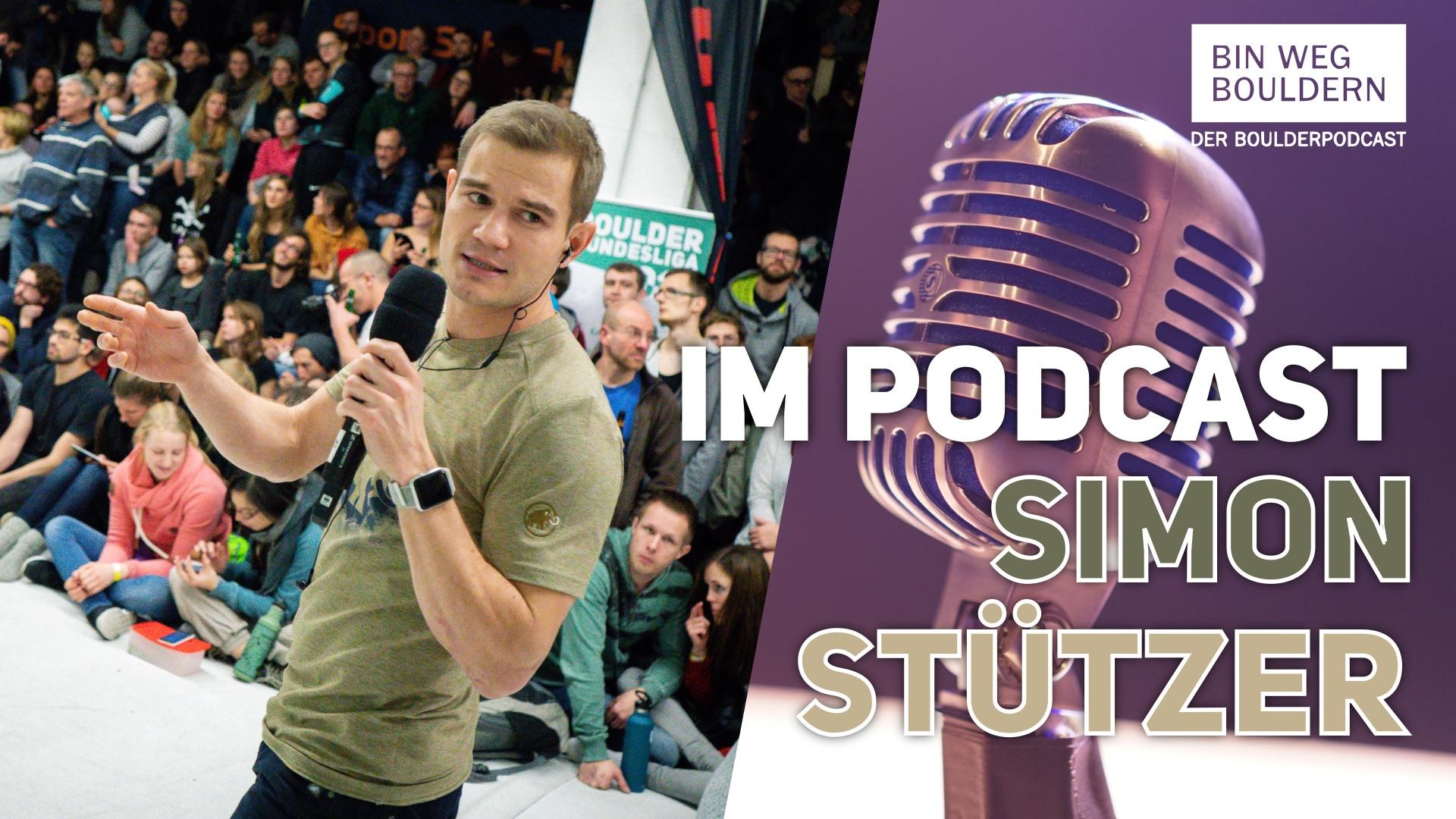 Podcast: Simon Stützer über die Boulder Bundesliga