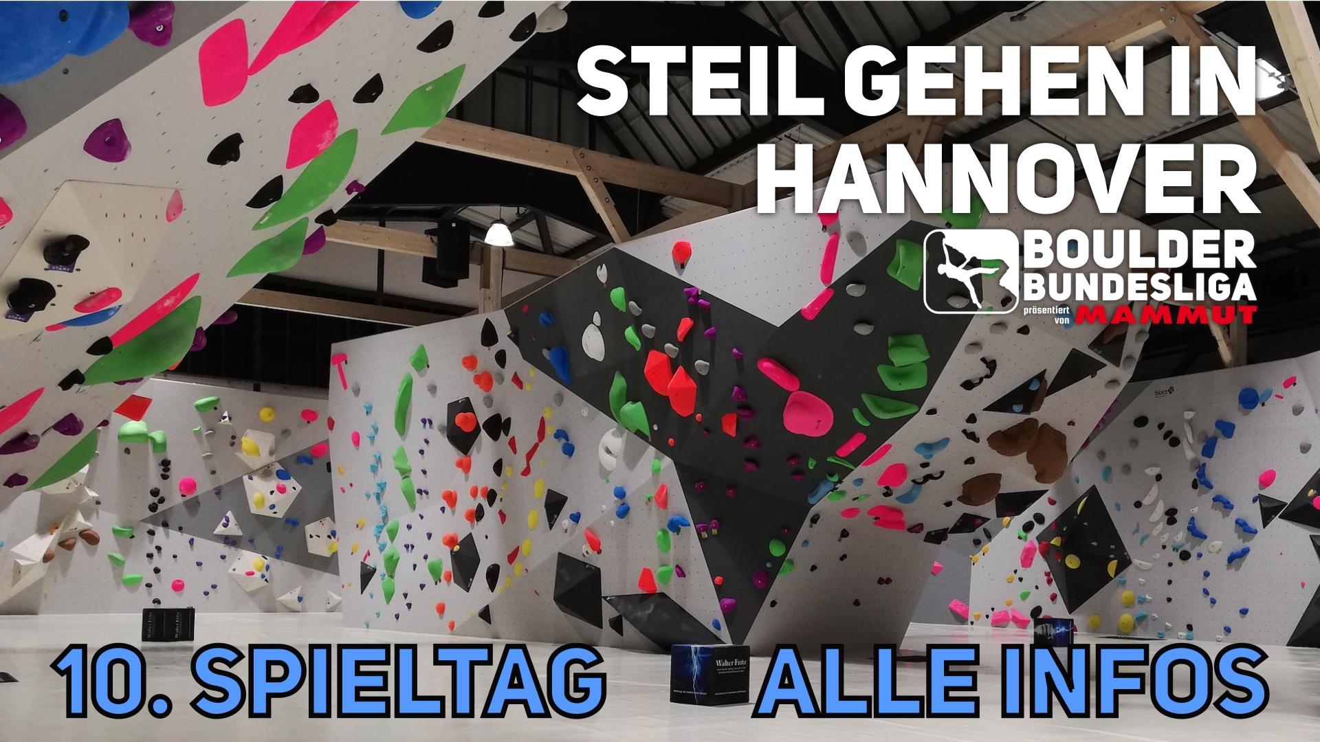 Steil gehen in Hannover