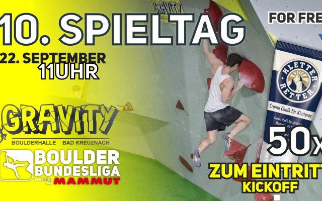Endspurt im Gravity Bad Kreuznach