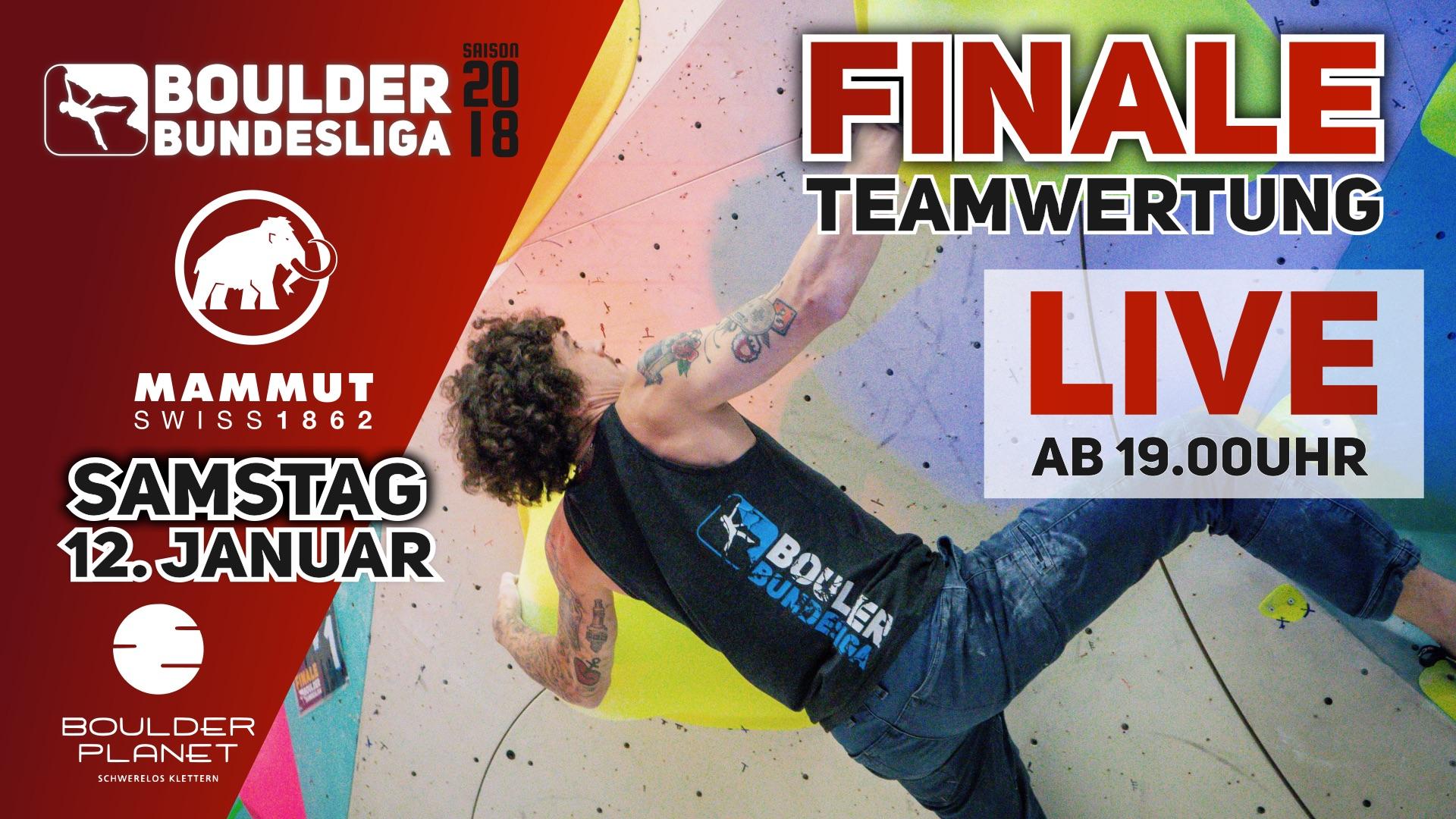 Livestream: Finale Teamwertung 2018