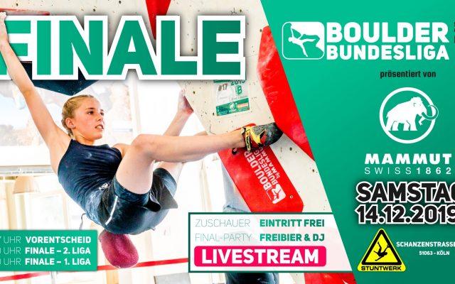 Boulder Bundesliga Finale 2019
