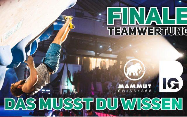 So wird das Team-Finale der Boulder Bundesliga in Göttingen