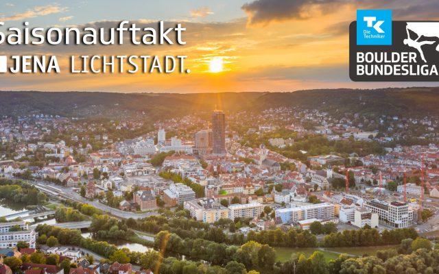 Lichtstadt Jena zum Saisonauftakt!